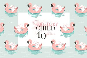 Summer Child patterns set