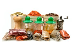 Collection dry spices