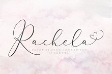 Rachela Lovely Calligraphy Font
