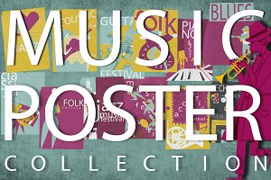 CREATE YOU'R MUSIC POSTER COLLECTION