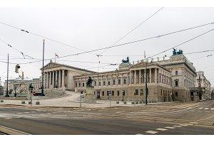 Austrian Parliament Building - Vienna