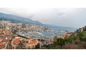 Port Hercules, La Condamine and Monte Carlo in Monaco