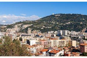 Residential buildings in Nice - France