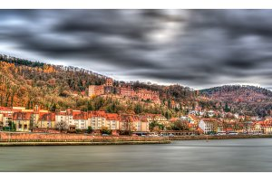 View of Heidelberg Castle - Germany, Baden-Wurttemberg