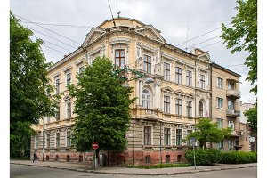 Historic building in the Ivano-Frankivsk city center