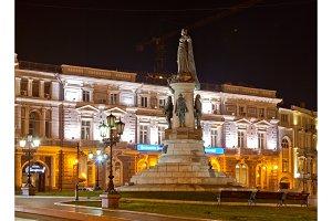 Monument to empress Catherine. Odessa.