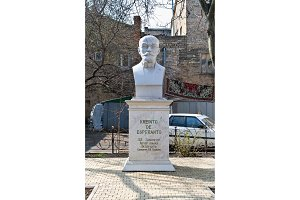 Statue of L. L. Zamenhof, the creator of Esperanto