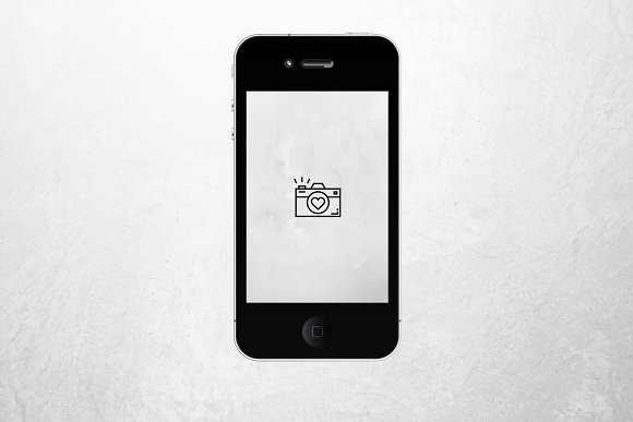 PHOTOGRAPHY Theme Instagram Icons in Instagram Templates - product preview 9