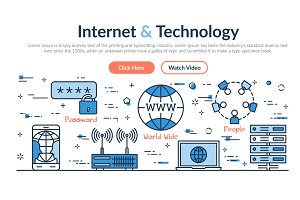 Web site header - Internet and Technology