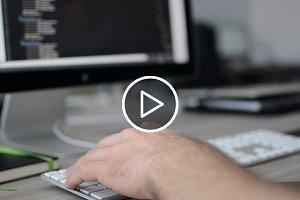 Developer working - video 2