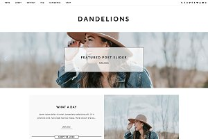Wordpress Theme - Dandelions