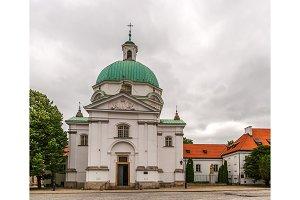 St. Kazimierz Church in Warsaw - Poland