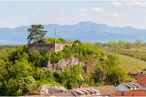 View of Castle Breisach - Baden-Wurttemberg, Germany