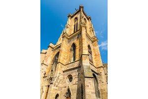 Belfry of St Martin's Church - Colmar, Alsace, France