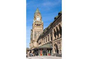Metz railway station (Gare de Metz) - Lorraine, France