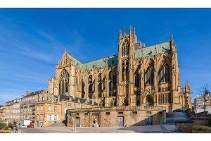 Cathedral Saint-Etienne de Metz - Lorraine, France