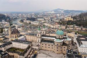 View of Salzburg - Austria