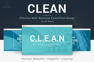 Clean Multi PowerPoint Template