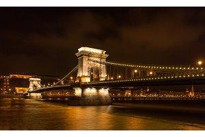 Szechenyi Chain Bridge - Budapest, Hungary