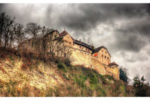 View of Vaduz Castle in Liechtenstein