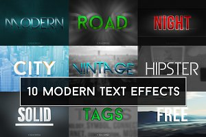 Modern Text Effects