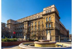 Technical Faculties Building - Belgrade University, Serbia