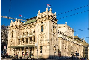 National Theatre in Belgrade - Serbia