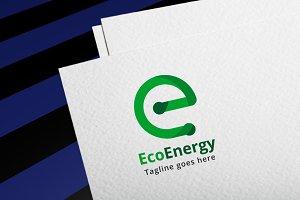 Eco Energy Letter e Logo