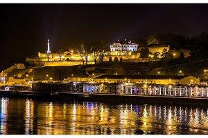 View of Belgrade Fortress over the Sava river - Serbia