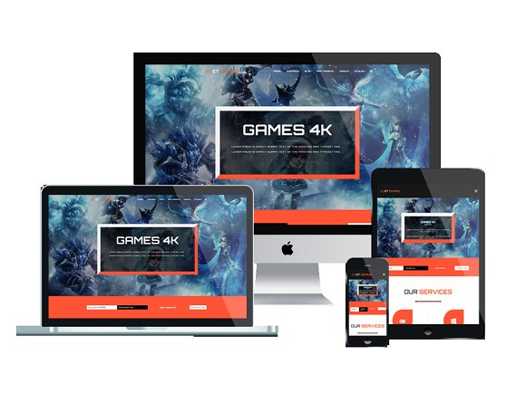 ET Gaming WordPress Gaming Theme