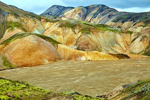 Valley National Park Landmannalaugar, Iceland