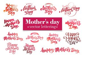Lettering for Mother's Day