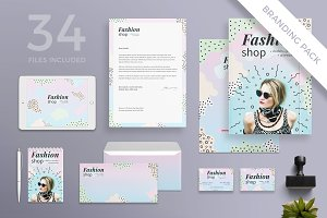 Branding Pack | Fashion Shop