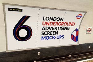 London Underground Screen Mock-Ups 4