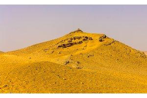 Hill in the Sahara near Giza - Egypt