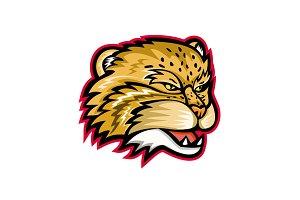 Manul or Pallas Cat Head Mascot