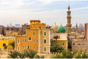 Mosque of El-Sayeda Fatima El-Nabawaya in Cairo - Egypt