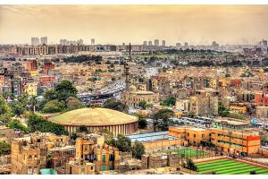 View of Cairo from the Citadel - Egypt