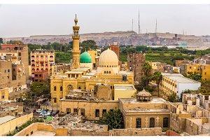 Mosque of El-Sayeda Fatima El-Nabawaya in Cairo - Egypt