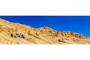 Landscape of the Valley of the Kings - Egypt