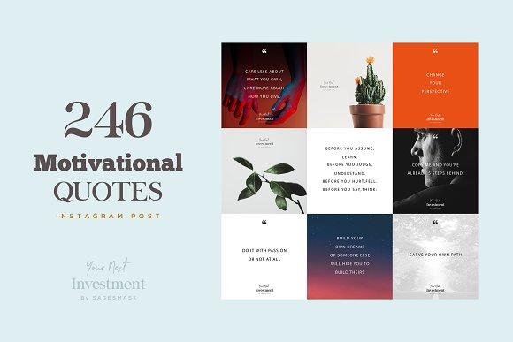 246 Motivational Social Media Quotes