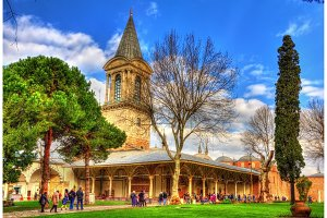 The Hall of Council at the Topkapi Palace - Istanbul, Turkey