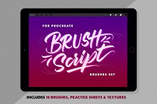 BrushScript Bundle for Procreate