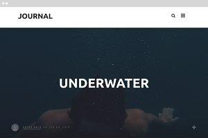 JOURNAL - A WordPress Blog Theme