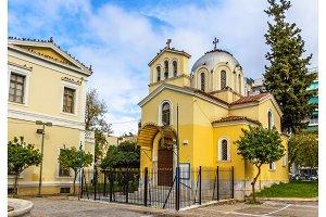 Holy Anargyroi church in Athens - Greece