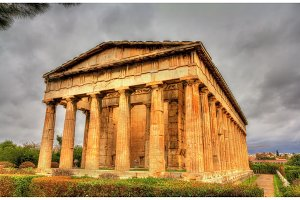 Temple of Hephaestus in Athens - Greece
