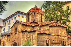 Church of Panagia Kapnikarea in Athens - Greece
