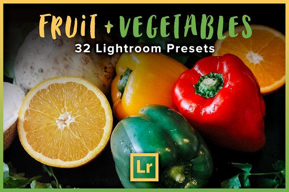 Fruit Vegetables Lightroom Presets