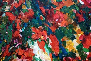 abstract background of oil painting