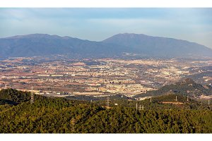 Mountains near Barcelona - Catalonia, Spain